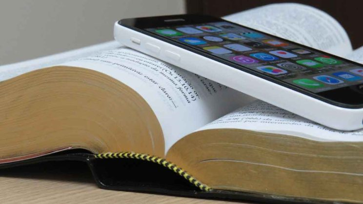 bible and cell